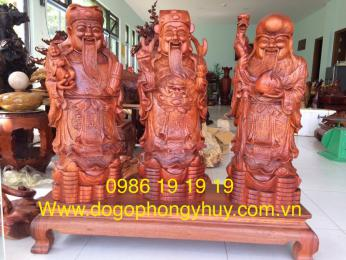Tượng Tam Đa Gỗ Hương Krongpa Gia lai