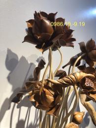 Hoa sen gỗ phong thủy Tiến Thịnh