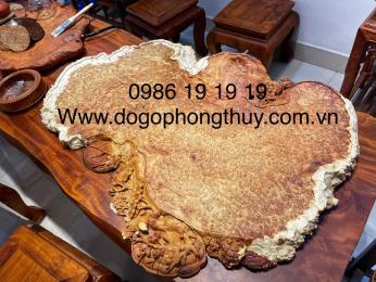 Khay trà gỗ Nu Hương Easup
