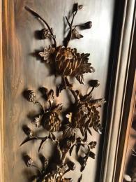 Đôi tượng đạt ma gỗ Ngọc am Hà Giang