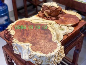 Kha trà thềm thừ gỗ Nu Hương
