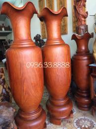 lộc bình gỗ hương Gia Lai nguyên khôi
