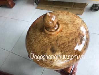 bình phú quý gỗ Nu Kháo