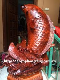 Cá Chép vượt vũ môn, ca chép hóa rông Gỗ Hương Daklak