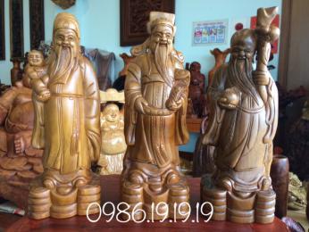 Tượng tam đa, gỗ Bách Xanh mộc châu sơn la