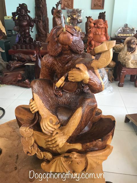 Tượng Khỉ Phong thủy -Phúc phong hâu