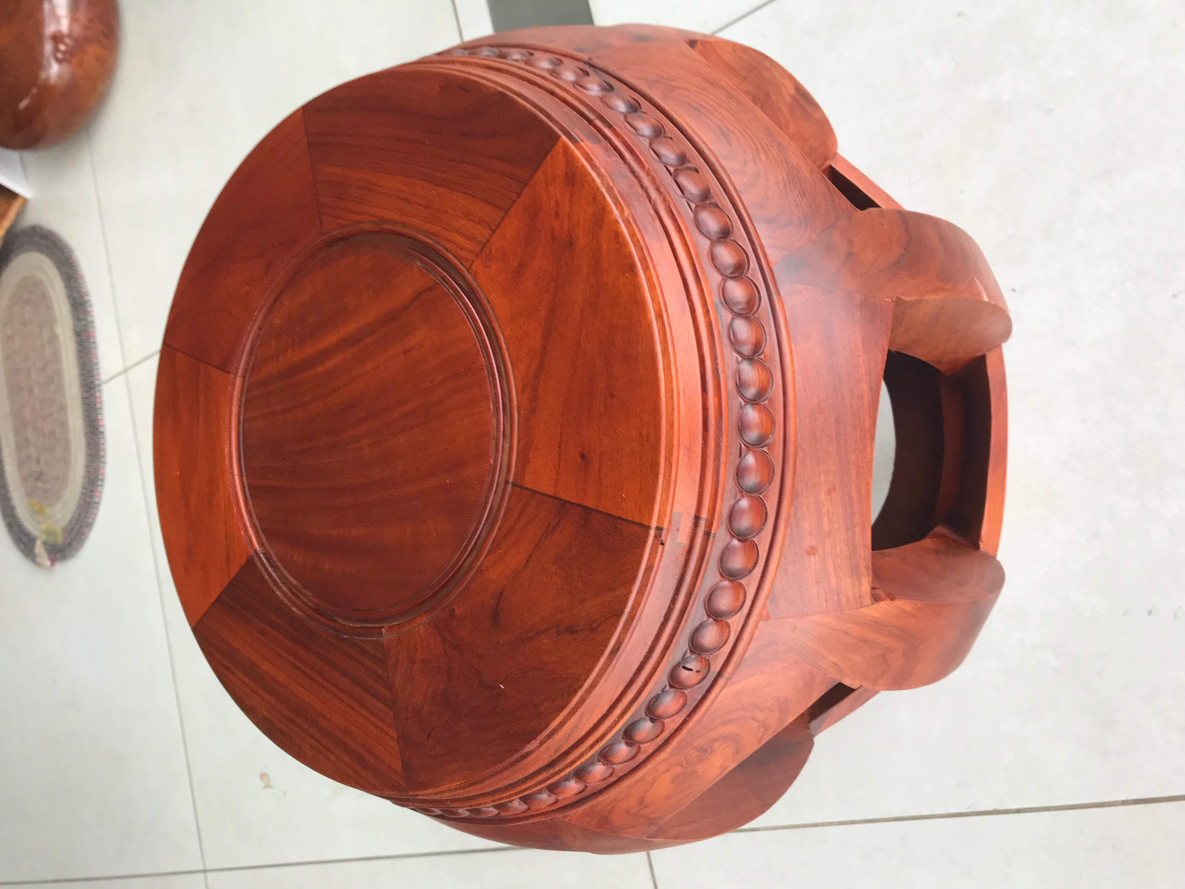 Đôn trông gỗ hương gia lai cao 42cm rộng 30cm dầy 4cm