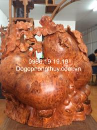 Giàn Bầu bí phong thủy gỗ Nu Hương Đaklak