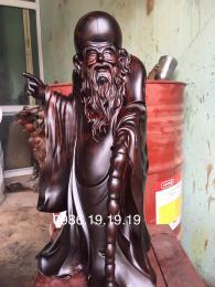 Tượng ông Thọ, gỗ Trắc Đăklăk nguyên khối