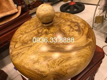 Bình phú qúy tài lộc, gỗ ngọc nghiến nguyên khối,