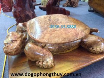 Tượng Rùa Gỗ Nu Nghiến Tuyên Quang