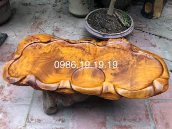 khay trà phong thủy, gỗ Nu Hương Cao Cấp