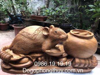 Tượng Chuột Phong Thủy, Gỗ Ngọc Am Hà Giang
