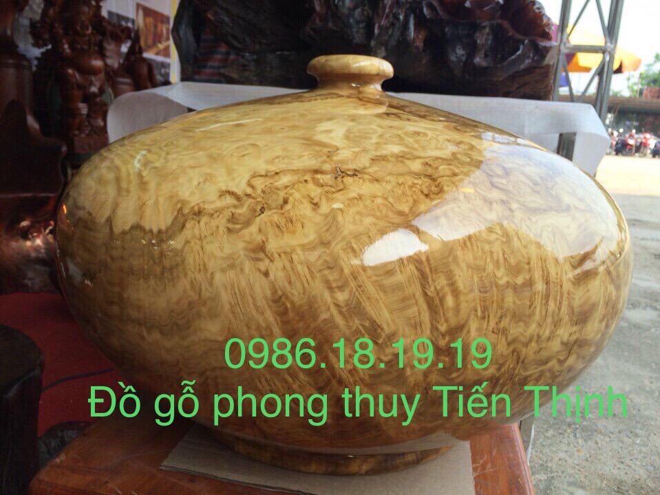 Bình Phú Quý Gỗ Ngọc Nghiến Na Hang.