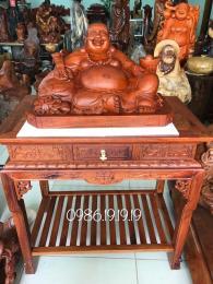 Đôn kê tượng Tam Đa, gỗ hương Gia Lai cao cấp