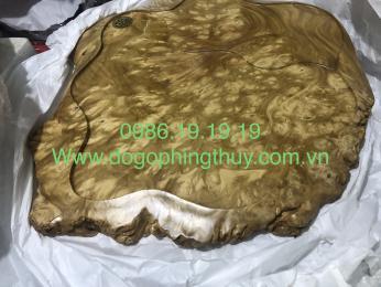 Khay trà gỗ nu nghiến Tuyên Quang