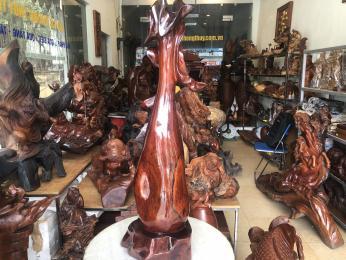 Lộc Bình Phay gỗ Cẩm