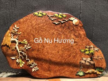Tranh gỗ Nu Hương Cao Cấp