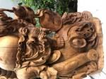 Tượng di lặc gỗ Ngọc am