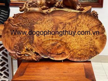 Tham khảo giá Khay trà gỗ Nu Hương Krongpa Gia lai